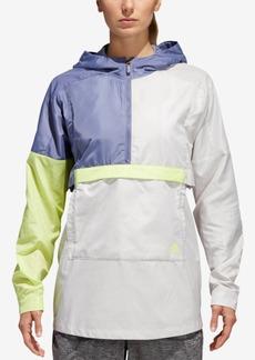 adidas Id Colorblocked Half-Zip Windbreaker