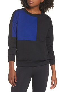 adidas ID Glory Colorblock Crewneck Sweatshirt
