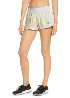 adidas International Women's Day Print 3-Stripes Shorts