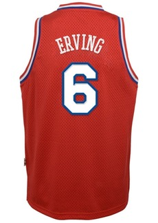 adidas Julius Erving Philadelphia 76ers Retired Player Swingman Jersey, Big Boys (8-20)