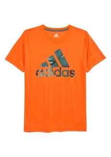 adidas Kids' Badge of Sport Camo Graphic Tee (Big Boy)
