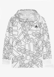 adidas Kids' Badge of Sport Logo Graphic Hoodie (Big Boy)