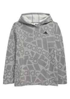 adidas Kids' BOS Logo Collage Hoodie (Big Boy)