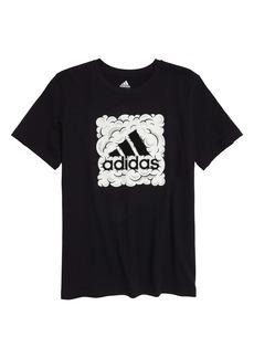 adidas Kids' Cloud BOS Graphic Tee (Big Boy)