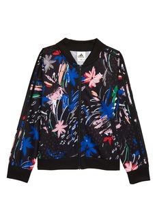 adidas Kids' Floral Bomber Jacket (Big Girl)