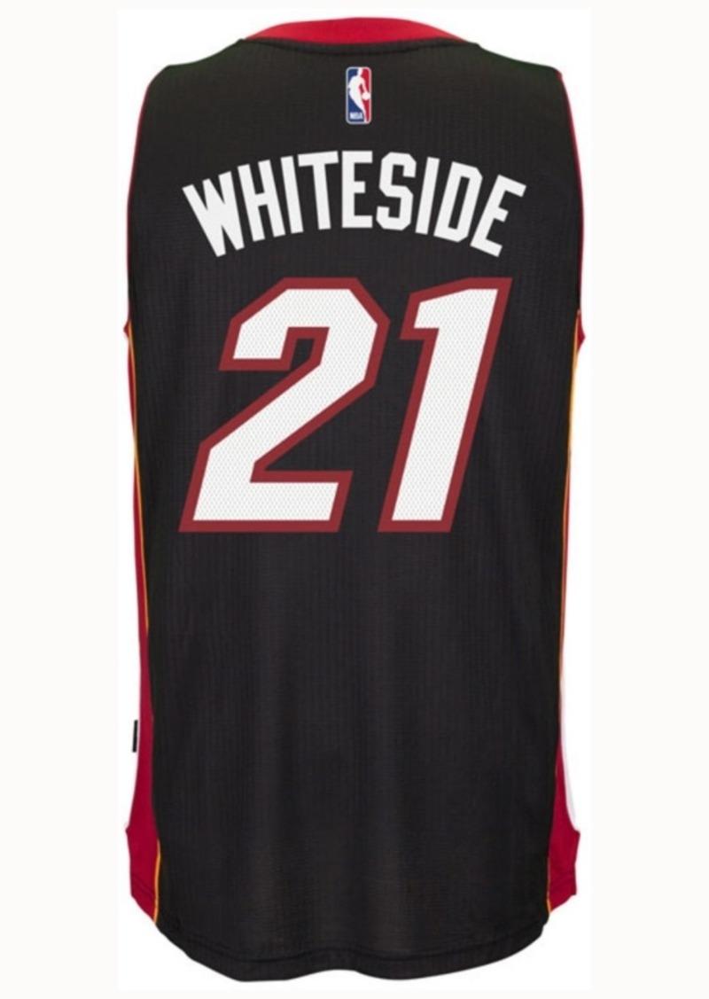 Adidas adidas Kids  Hassan Whiteside Miami Heat Swingman Jersey  14bcb188a