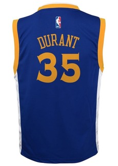adidas Kevin Durant Golden State Warriors Swingman Jersey, Big Boys (8-20)