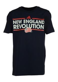 adidas Kids' New England Revolution Dassler T-Shirt, Big Boys (8-20)