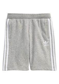 adidas Kids' Originals 3-Stripes Fleece Shorts (Big Boy)