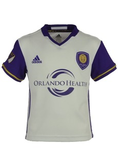 adidas Orlando City Sc Mls Replica Secondary Jersey, Little Boys (4-7)