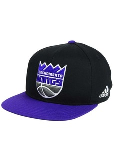 adidas Kids' Sacramento Kings Xl 2-Color Snapback Cap