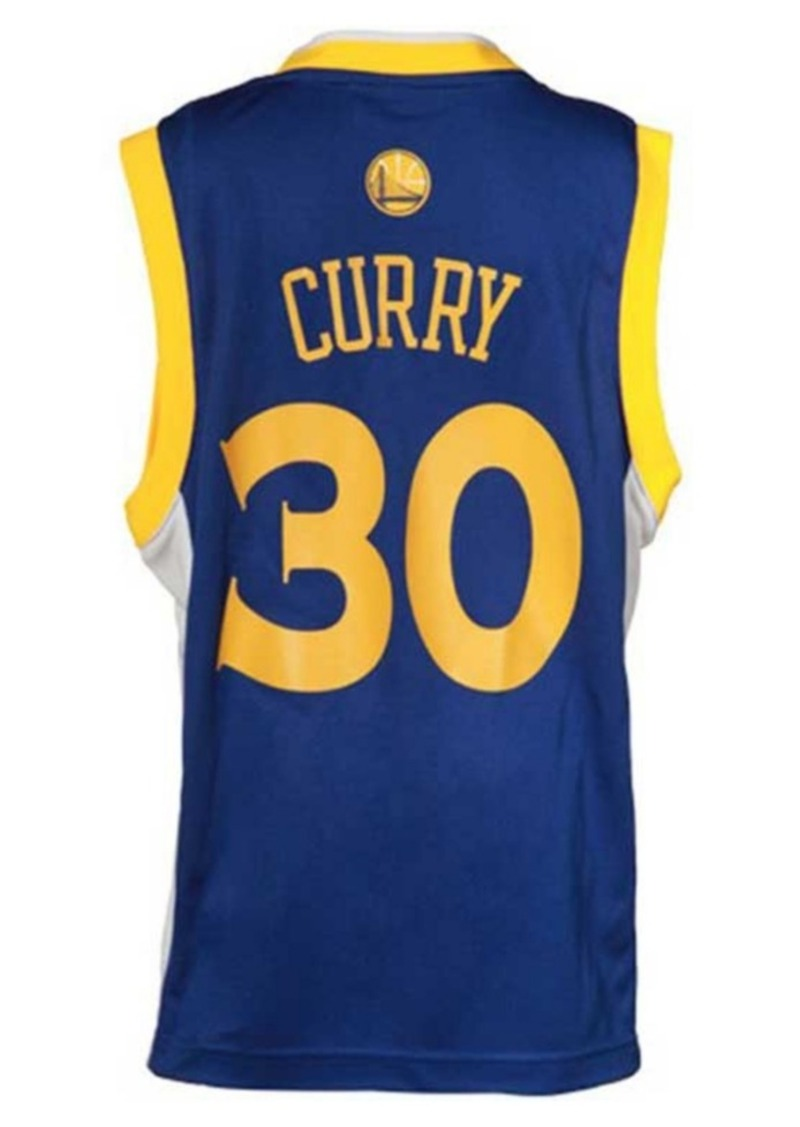 watch b9b78 88034 Kids' Stephen Curry Golden State Warriors Revolution 30 Jersey, Big Boys  (8-20)