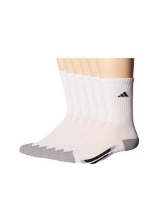 Adidas Vertical Stripe Crew 6-Pack (Toddler/Little Kid/Big Kid/Adult)