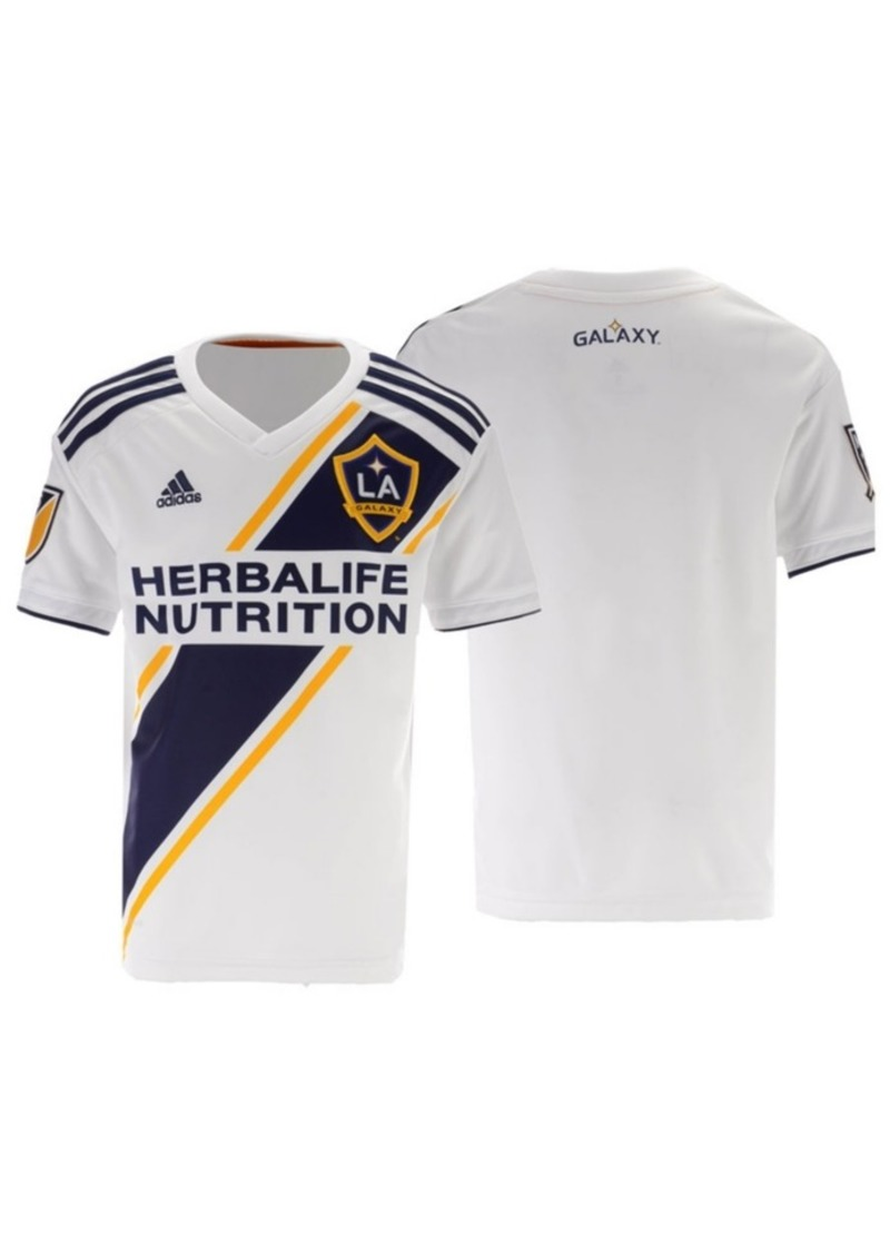 adidas La Galaxy Primary Replica Jersey, Big Boys (8-20)