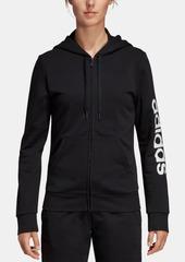 adidas Linear Logo Fleece Hoodie