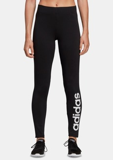 adidas Women's Linear-Logo Leggings