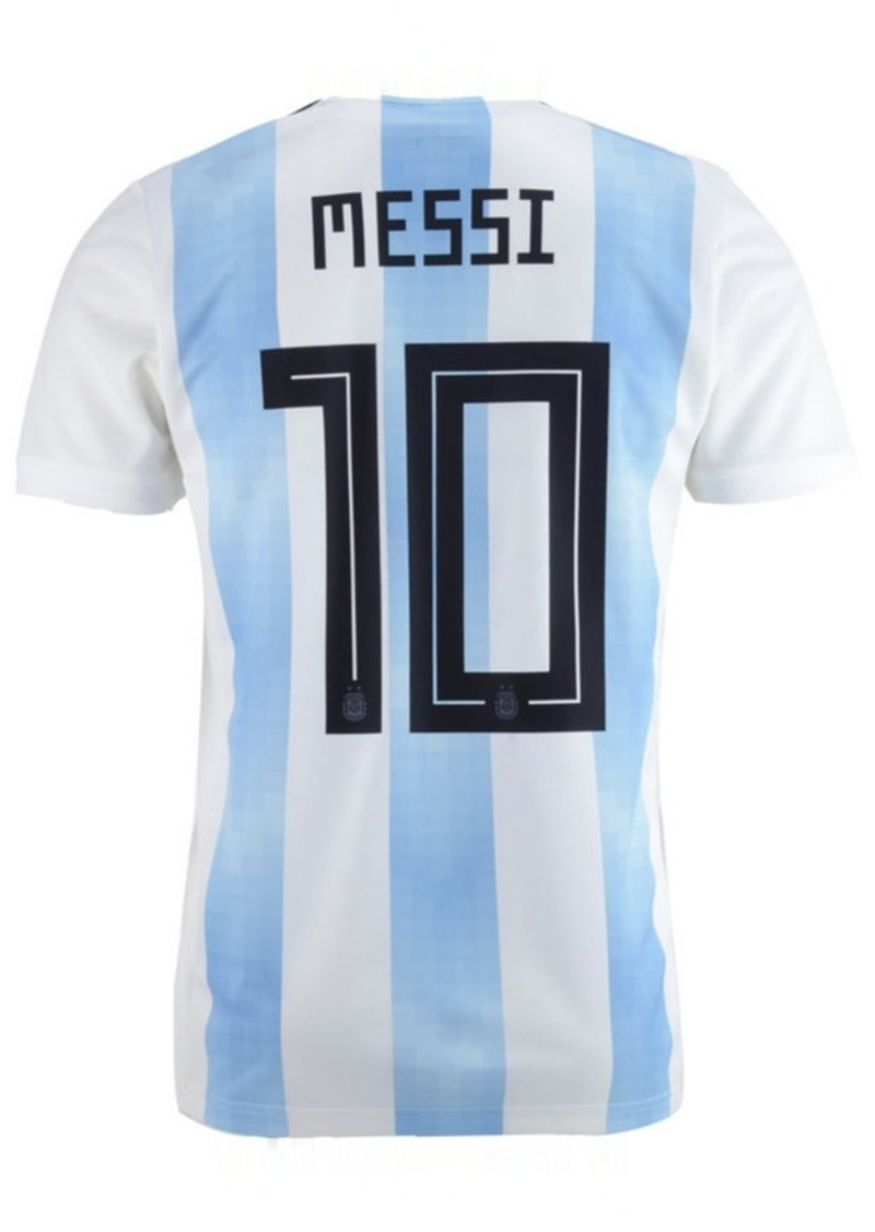 adidas Lionel Messi Argentina National Team Home Stadium Jersey, Big Boys (8-20)
