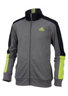 Adidas Little Boy's & Boy's Heathered Tricot Jacket