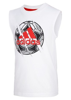Adidas Little Boy's Active Ball Graphic Cotton Tank Top