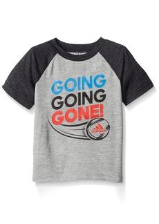 adidas Toddler Boys' Active Raglan Tee Shirt