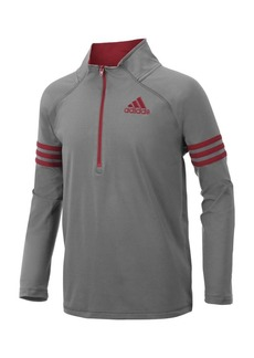 Adidas Little Boy's and Boy's Two-Tone Quarter Zip Pullover