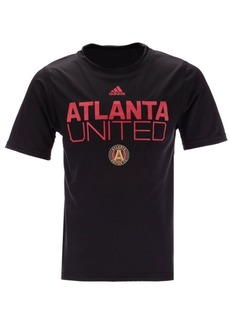 adidas Little Boys Atlanta United Fc Locker Stacked T-Shirt