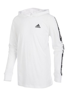Adidas Little Boy's Branded Sleeve Hoodie