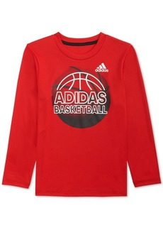 adidas Toddler Boys Climalite Graphic-Print Shirt