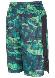 adidas Little Boys Climalite Mesh Core Camo-Print Shorts