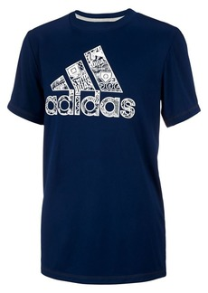 Adidas Little Boy's Climalite Multi Sport Tee