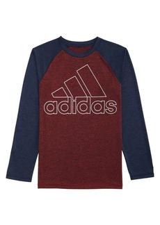 Adidas Little Boy's Climalite Performance Logo Tee
