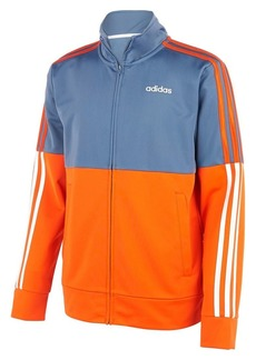 Adidas Little Boy's Colorblock Full-Zip Tricot Jacket
