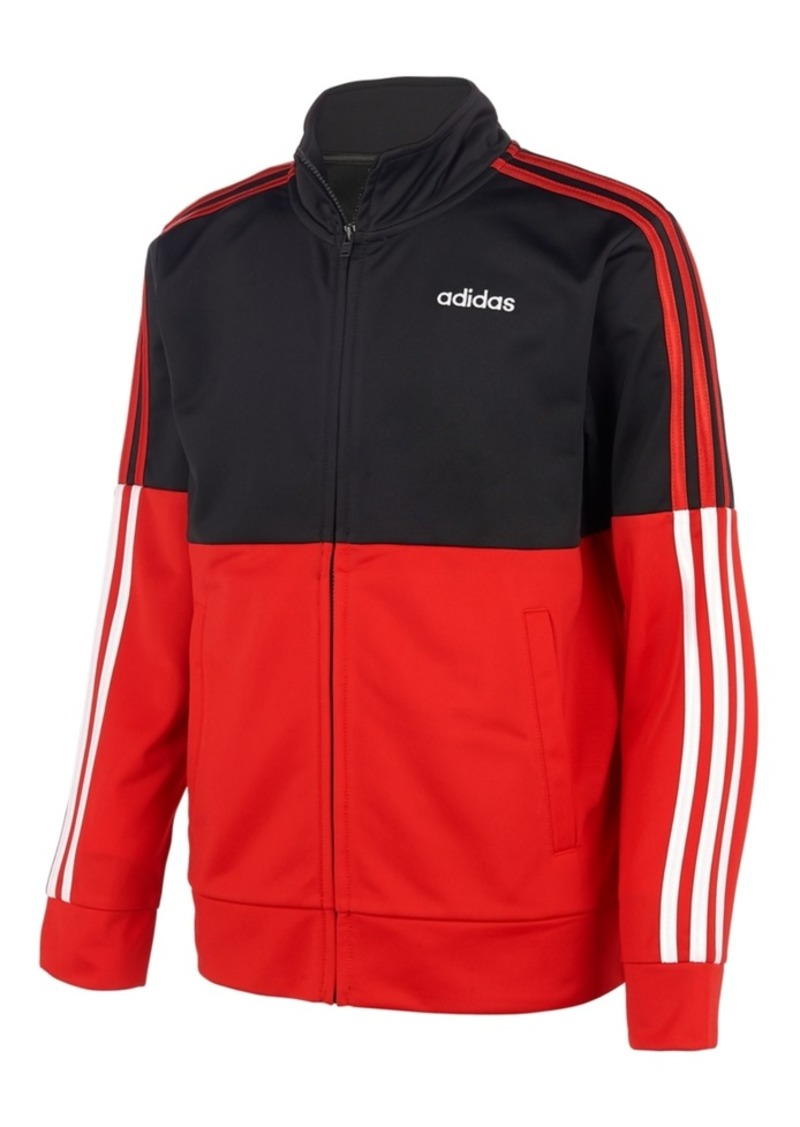 adidas Little Boys Colorblocked Tricot Jacket