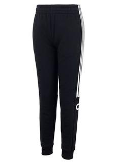 Adidas Little Boy's Core Linear Cotton-Blend Jogger Pants