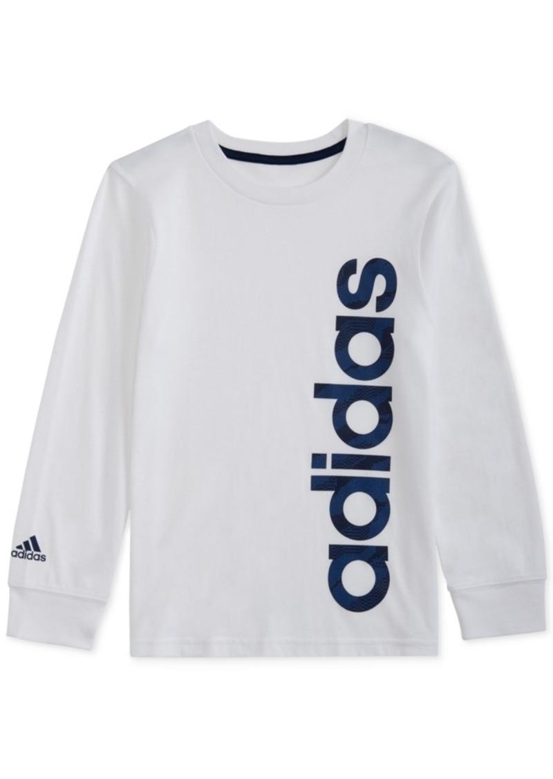 adidas Toddler Boys Cotton Graphic-Print Shirt