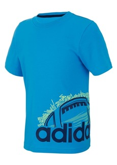 adidas Little Boys Doodle Sport Ball Graphic Cotton T-Shirt
