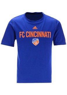 adidas Little Boys Fc Cincinnati Locker Stacked T-Shirt