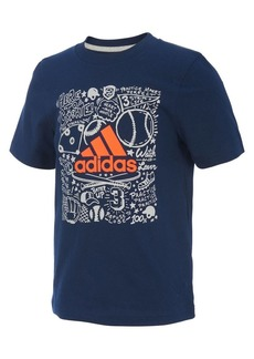 Adidas Little Boy's Future Sport Short-Sleeve Cotton Tee