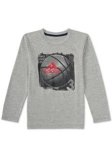 adidas Little Boys Graphic-Print T-Shirt