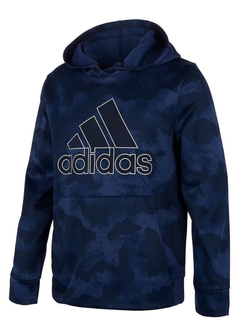 Adidas Little Boy's Heathered Camo Pullover Hoodie