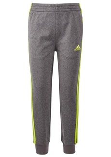 adidas Toddler Boys Heathered Tricot Jogger Pants