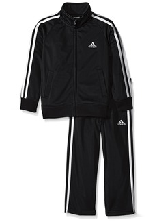 adidas Little Boys' Iconic Tricot Jacket and Pant Set