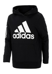 adidas Little Boys Logo-Print Cotton Hoodie