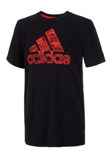 adidas Toddler Boys Logo-Print T-Shirt