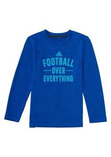 Adidas Little Boy's Long-Sleeve Climalite® Aspirational Sport Tee