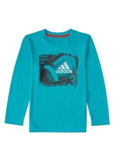 Adidas Little Boy's Long-Sleeve Climalite® Sport Ball Tee