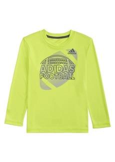Adidas Little Boy's Long-Sleeve Half Ball Sport Tee