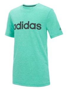 Adidas Little Boy's Mélange Logo Tee