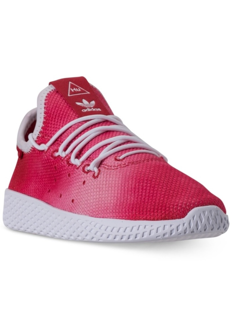 3f592cb195e57 adidas Little Boys  Originals Pharrell Williams Tennis Hu Casual Sneakers  from Finish Line