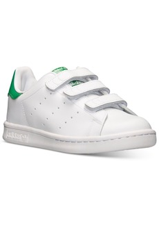 adidas Little Boys' Originals Stan Smith Stay-Put Closure Casual Sneakers from Finish Line